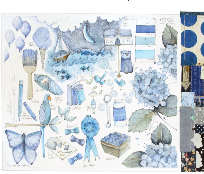 From The Art of Creative Watercolor by Danielle Donaldson