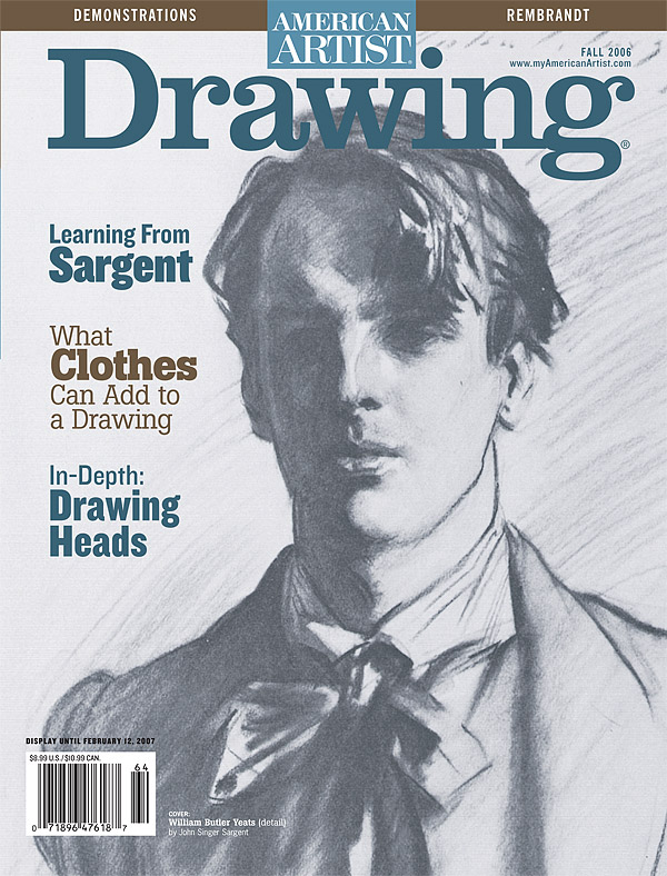Drawing Magazine Cover Countdown 1 Artists Network