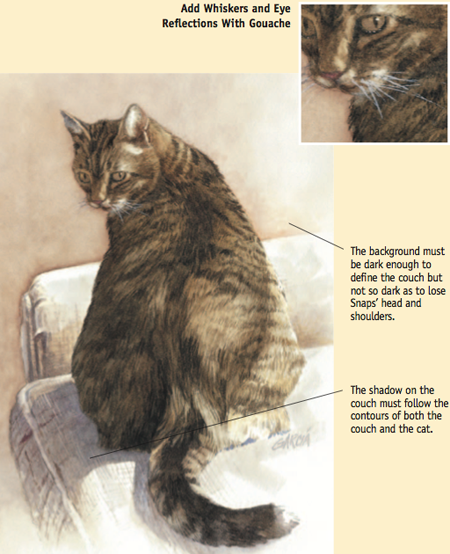 How paint a cat in watercolor, The Watercolor Bible, Artist Joe Garcia