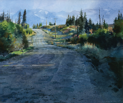 Watercolor and Egg Tempera Paintings of Stan Miller