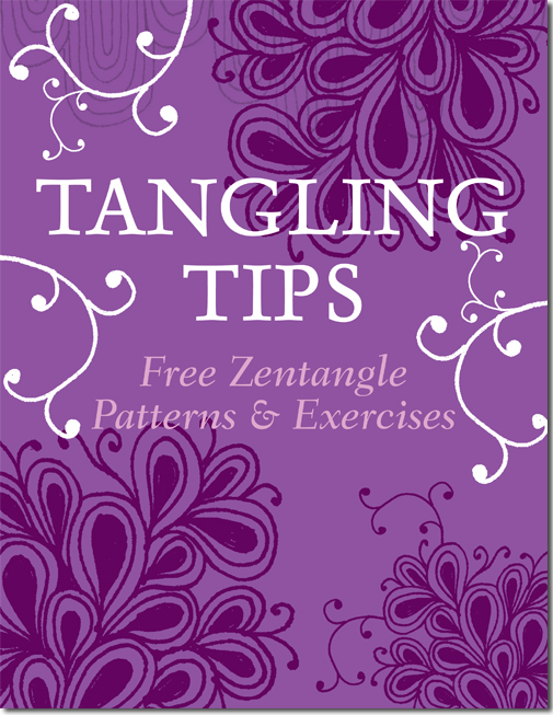 Easy Zentangle Patterns For Beginners Step By Step Tutorials Artists Network
