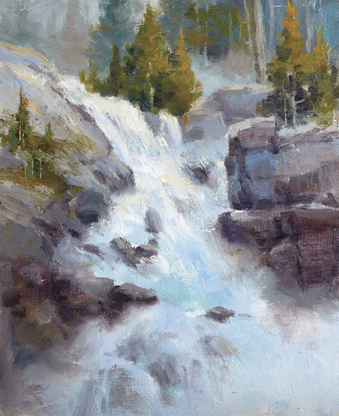 Paint Waterfalls That Are Full Of
