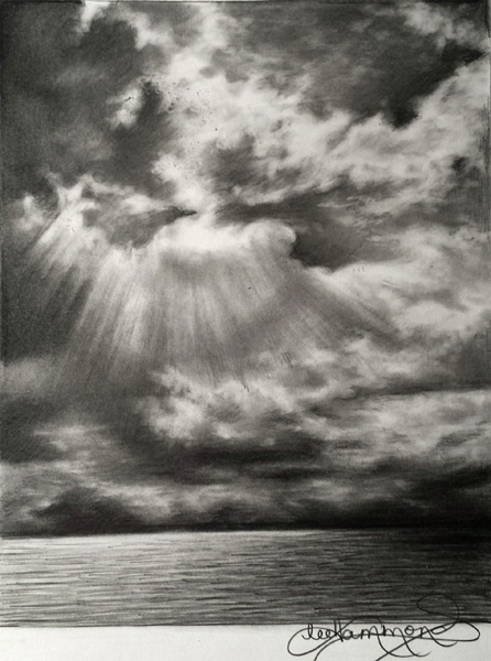 Drawing Skies In Graphite Artists Network