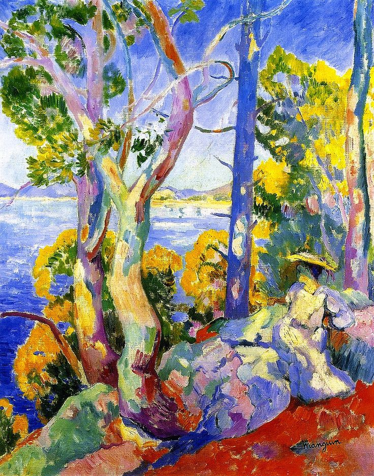 Morning at Cavaliere by Henri Manguin, 1906.