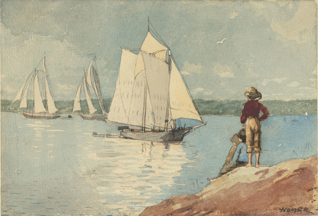 Winslow homer watercolor paintings