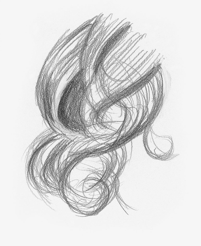 Drawing Hair For Beginners Graphite And Colored Pencil Techniques