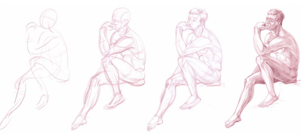 How to Draw People | Drawing Anatomy for Beginners: Top 5 Dos and Don'ts by Jeff Mellem | Artists Network