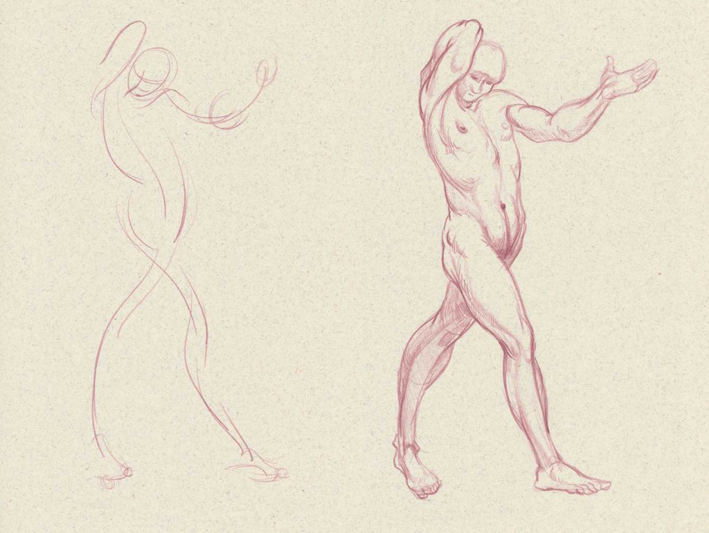 Gesture Drawing | Drawing Anatomy for Beginners: Top 5 Dos and Don'ts by Jeff Mellem | Artists Network