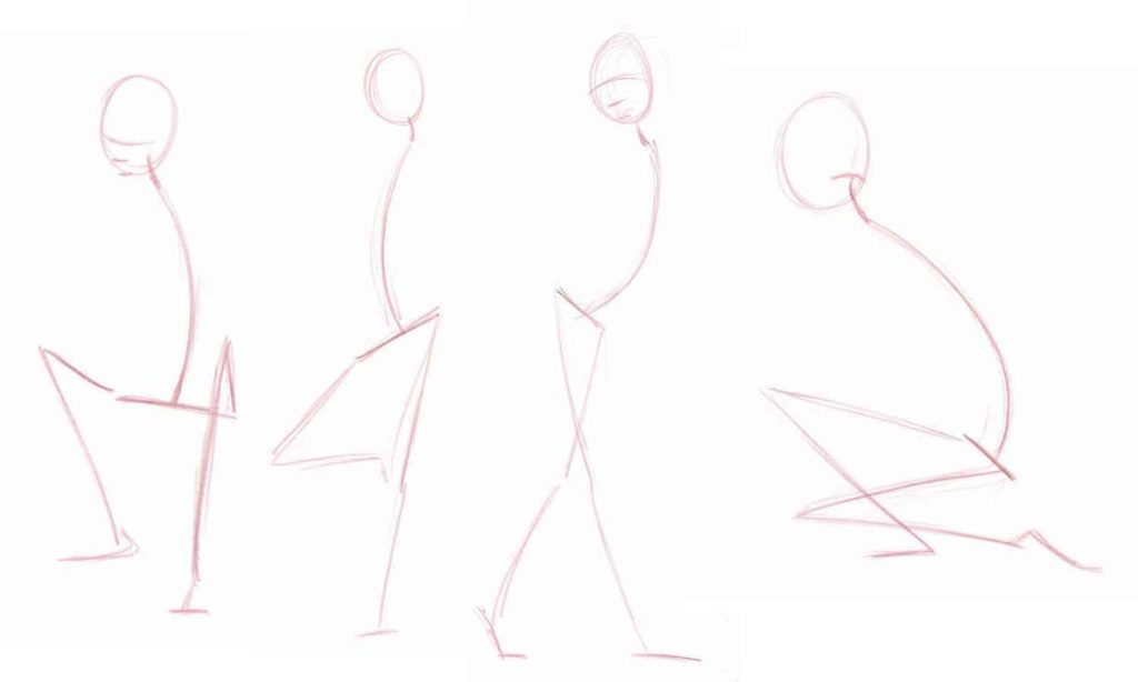 Drawing the Legs | Armature Demo | Why You Should Start with Armatures When Learning to Draw Figures | Excerpt from How to Draw People by Jeff Mellem | Artists Network