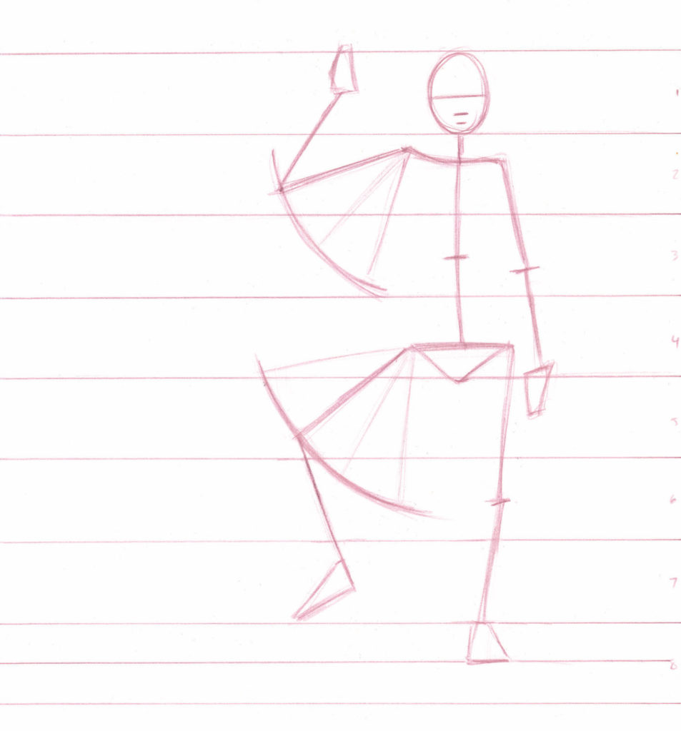 Proportions | Drawing Armatures | Excerpt from How to Draw People by Jeff Mellem | Artists Network