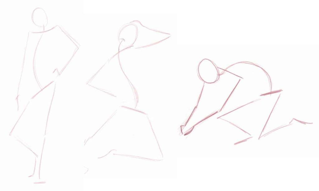 Drawing the Shoulders and Arms | Armature Demo | Why You Should Start with Armatures When Learning to Draw Figures | Excerpt from How to Draw People by Jeff Mellem | Artists Network