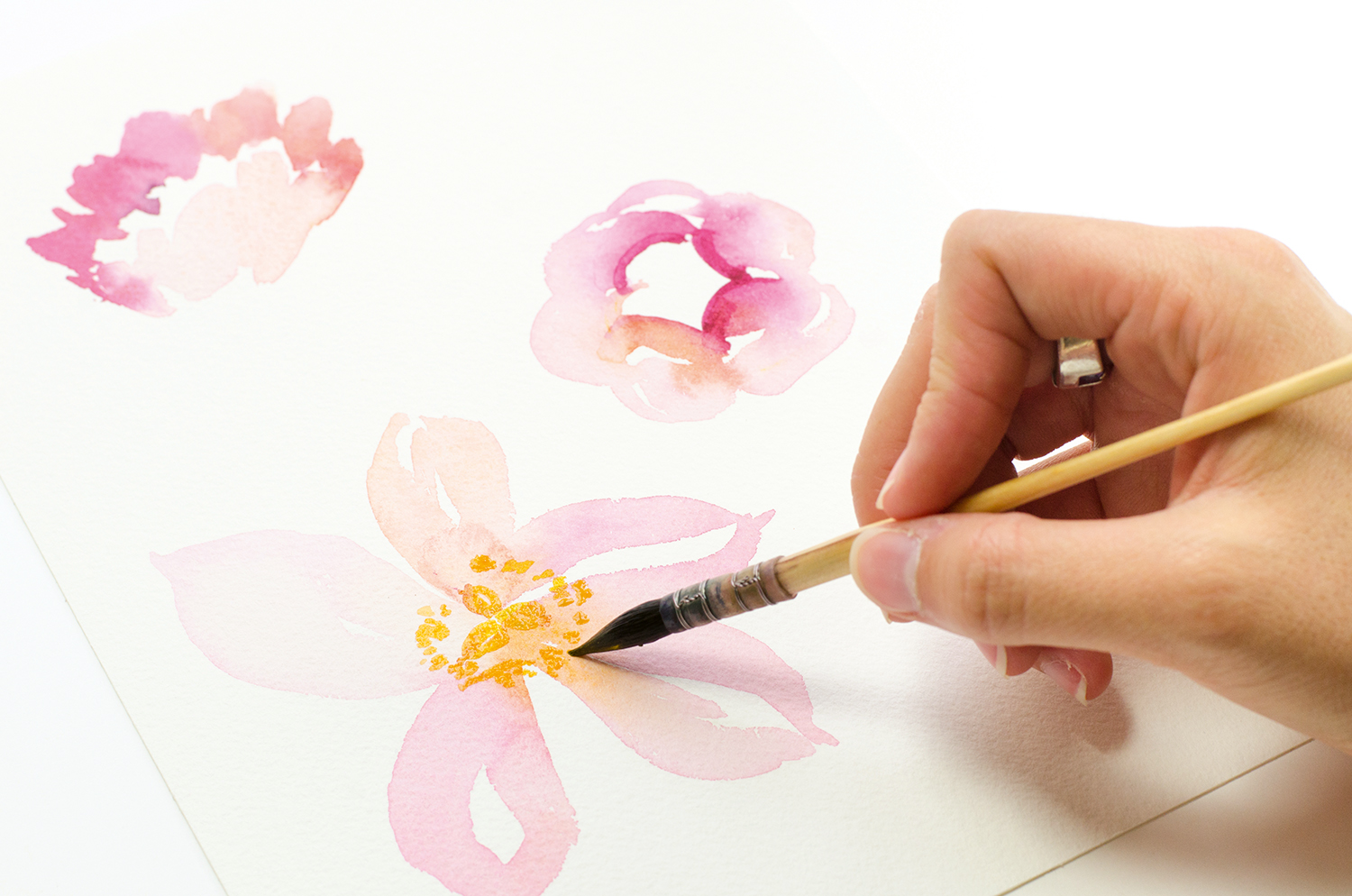 Gorgeous Easy Watercolor Flowers Perfect For Beginners
