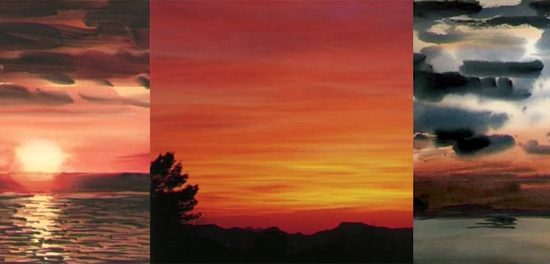 Improve Your Sunsets In Watercolor With Patrick Howe Streaming Video Artists Network