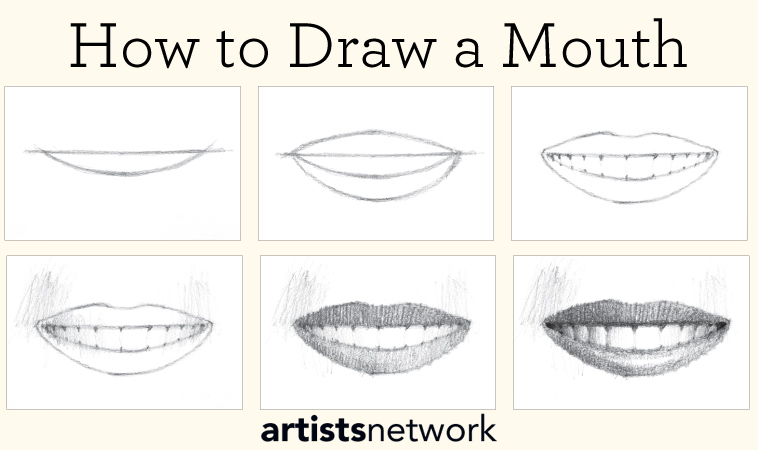 Drawing For Beginners Free Step By Step Guide Artists Network Step by step drawing of a hand with brush pen. drawing for beginners free step by