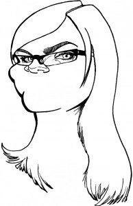 How to draw a cartoon: Cartoon-Face-Step-4