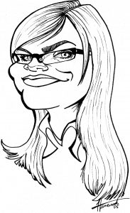 How to draw a cartoon: Cartoon-Face-Step-6