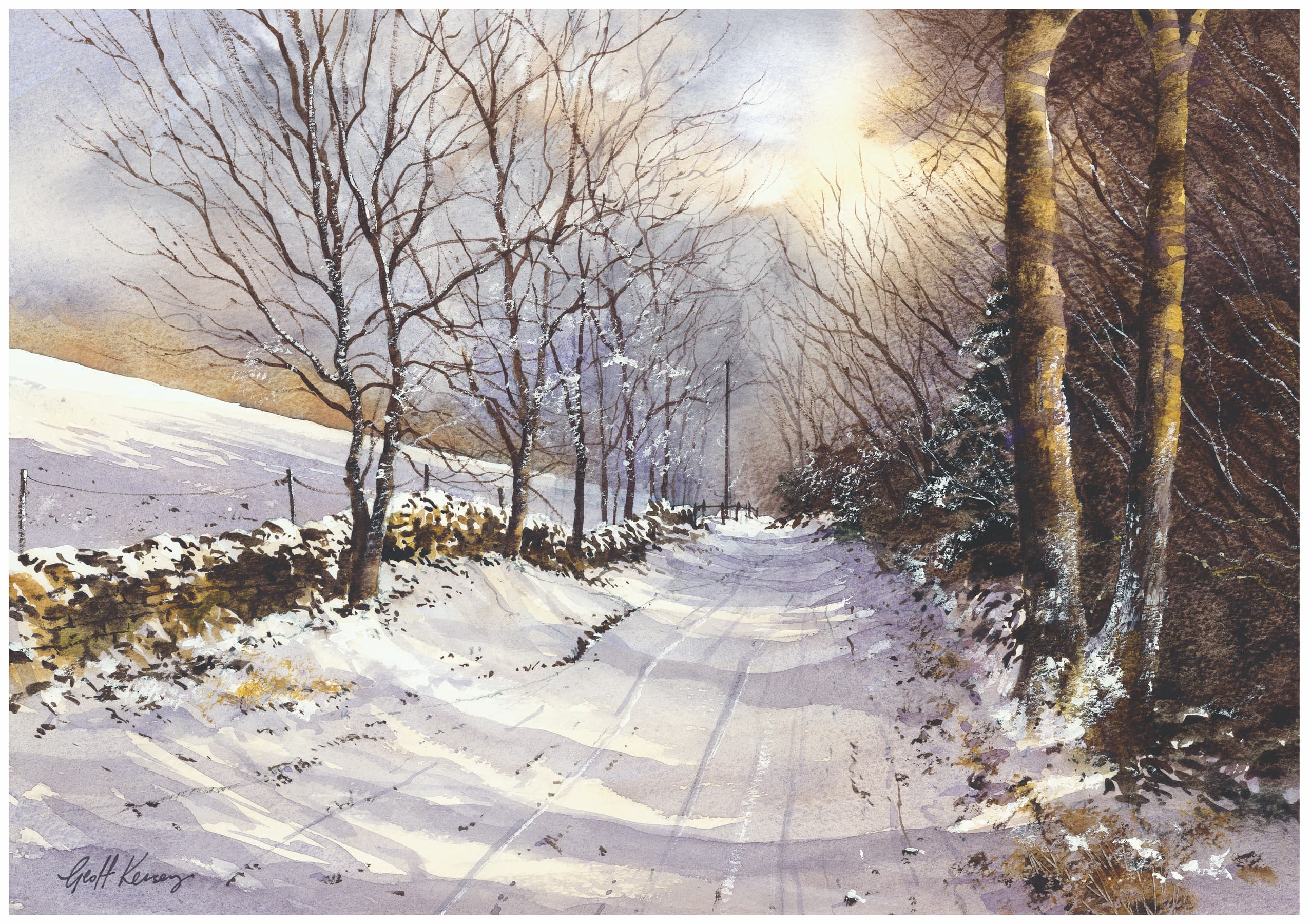 Color Palettes For Winter Landscape Paintings Artists Network
