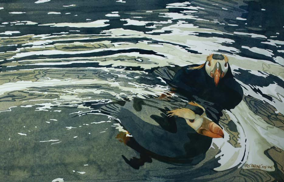 What Color is Water? Blue and Beyond, in Watercolor   Artists Network
